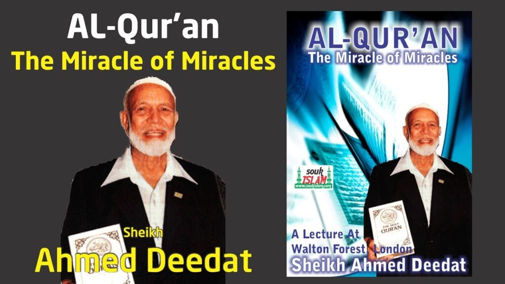 Al-Quran – The Miracle of Miracles – Lecture By Sheikh Ahmed Deedat with Q & A Session – (London)