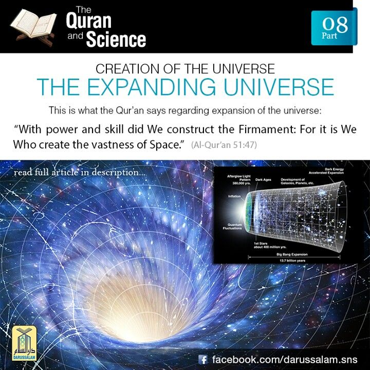 Expansion of the Universe / Scientific Miracles of the Quran